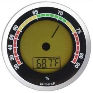 Hygrometer Cigar Oasis  Digitaal Chroom