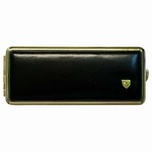 Sigarettenkoker 8 ZW/GoldLeder 100 MM