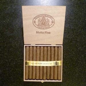 Van Der Donk Matta Fina  20 sigaren