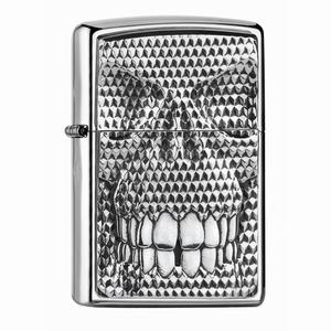 Zippo Carbon Skull