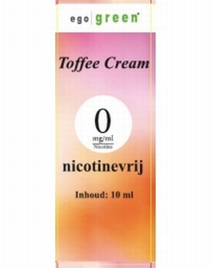 Ego Green E-liquid Toffee Cream