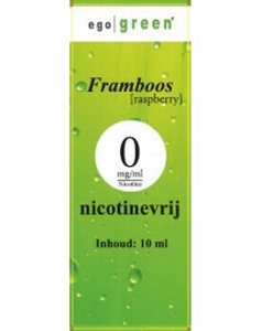 Ego Green E-liquid Framboos