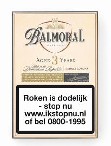 Balmoral Aged 3 Years - Short Corona