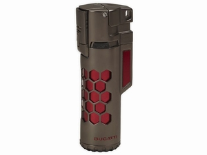 BUGATTI Mirage Gun Satin & Red Honeycomb