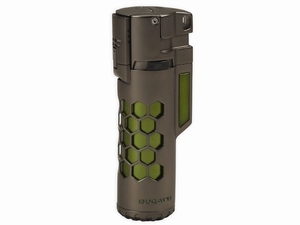 BUGATTI Mirage Gun Satin & Green Honeycomb
