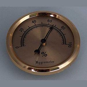 Hygrometer goud 55/47