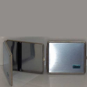 Sigarettenkoker Metaal CHR M GRV PL 100MM