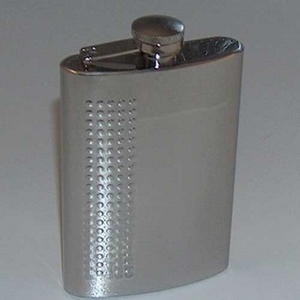 Flask Staal met puntdecor 210 ml