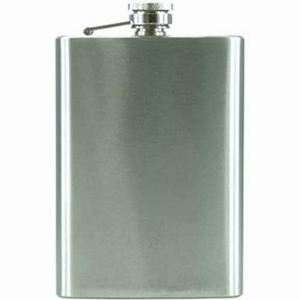 Flask Staal geschuurd 240 ml