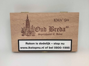Oud Breda KMA 'tjes  25 sigaren