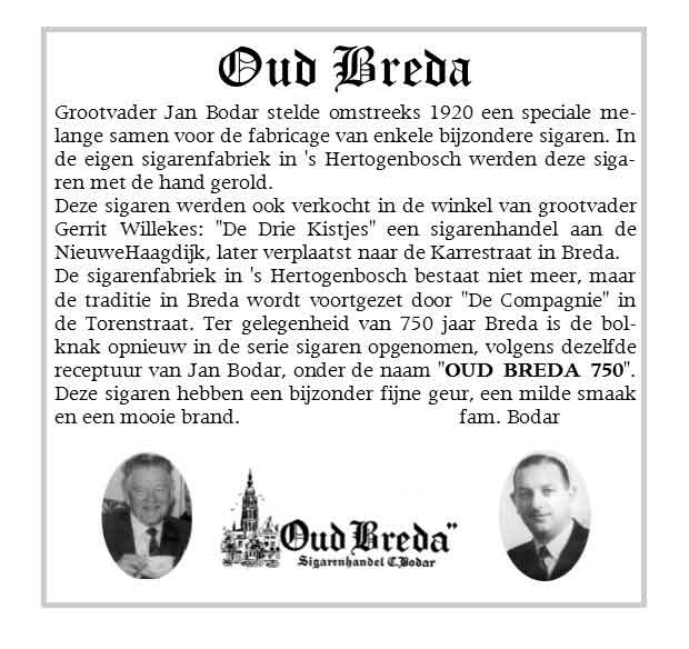 Oud Breda Proeverij Turfschipper