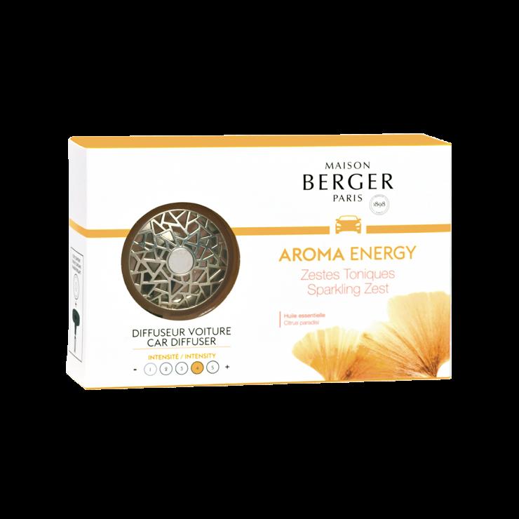 Autoparfum Aroma ENERGY Zestes Toniques