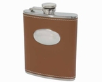 Zakflacon Peterson Leder Camel - 180ml