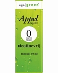 Ego Green E-liquid Appel