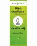Ego Green E-liquid Wilde Aardbei