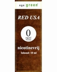 Ego Green E-liquid Red USA