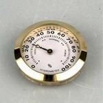 Hygrometer goud klein