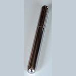 sigarenkoker staal chroom 23x2,2 cm